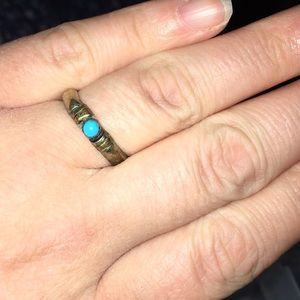 Sterling Silver & Turquoise Ring